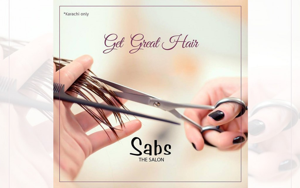 Sabs is one of the best hair salons in Karachi