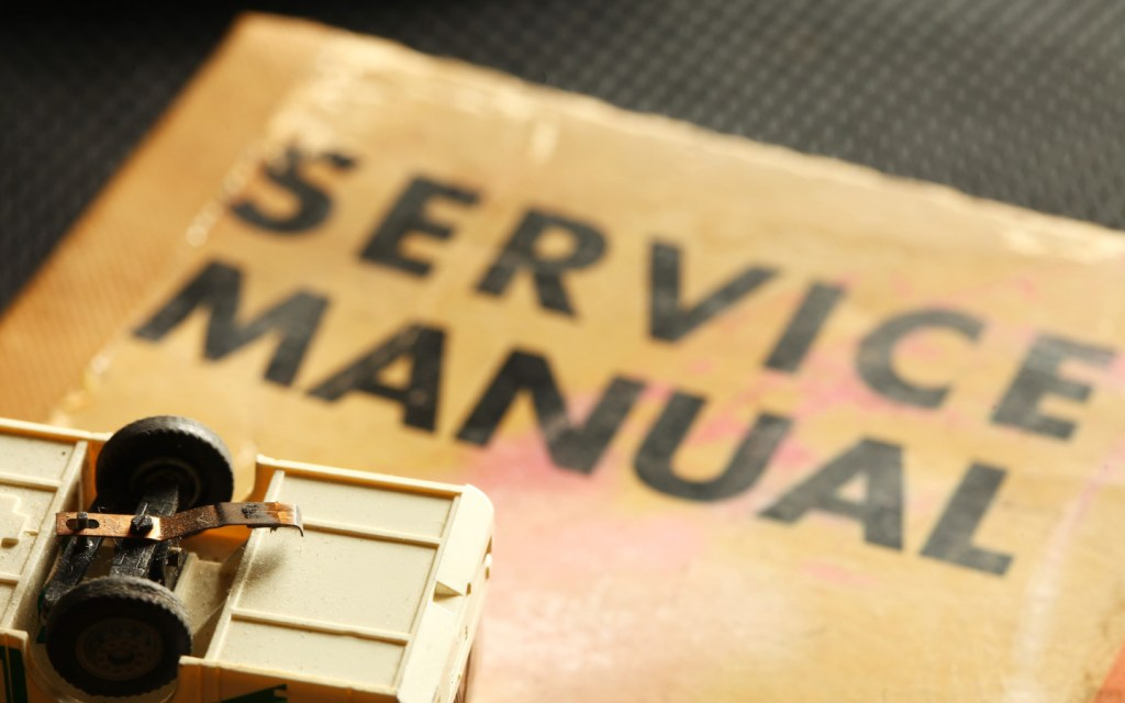 Keep your car's service manual in the toolkit so that you can refer to it in emergencies