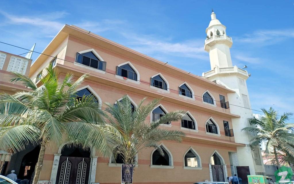 mosques in Clifton Karachi