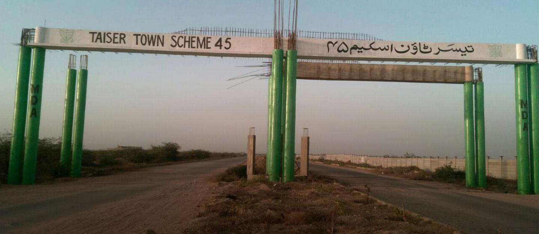 Investing in Taiser Town Scheme 45 Karachi: Updates | Zameen Blog