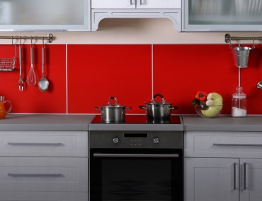 Keep kitchen decor simple and create extra counter space