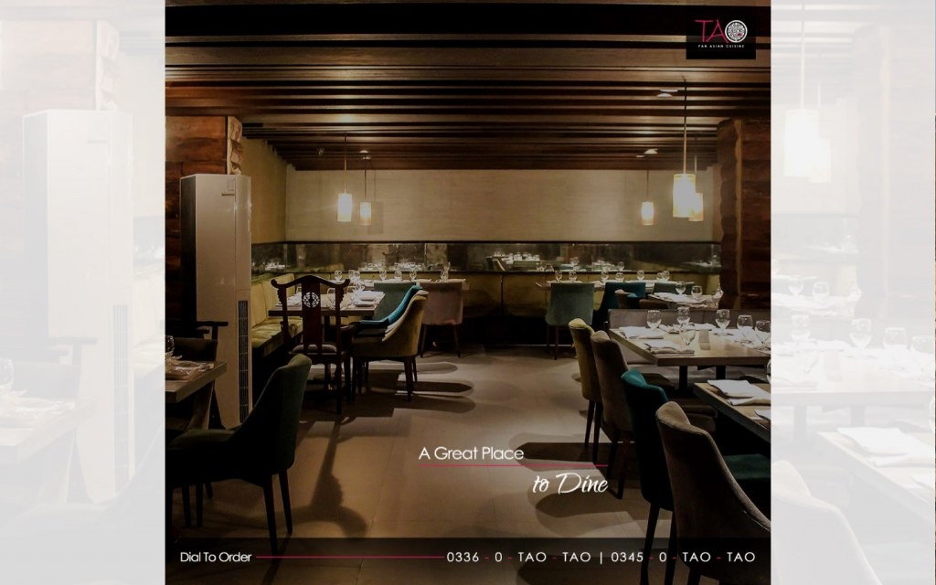 TAO offers Pan-Asian cuisine for its patrons