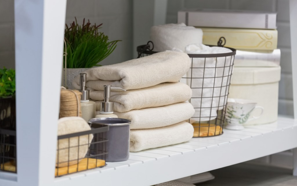 add storage space to your bathroom