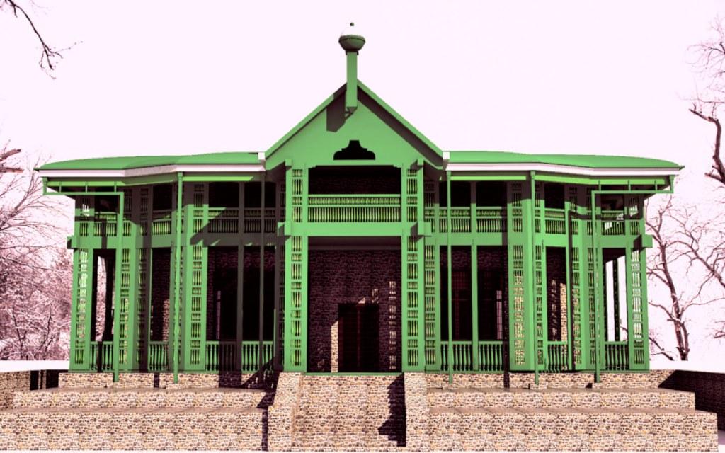 Quaid-e-Azam Residency in Ziarat
