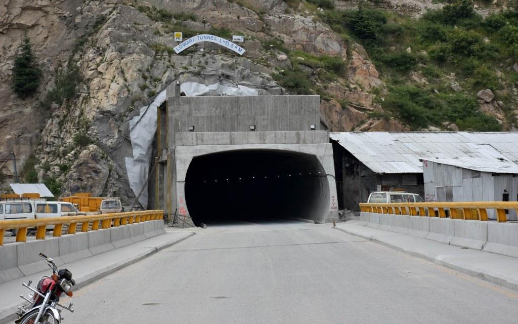 Lowari Tunnel in Khyber Pakhtunkhwa