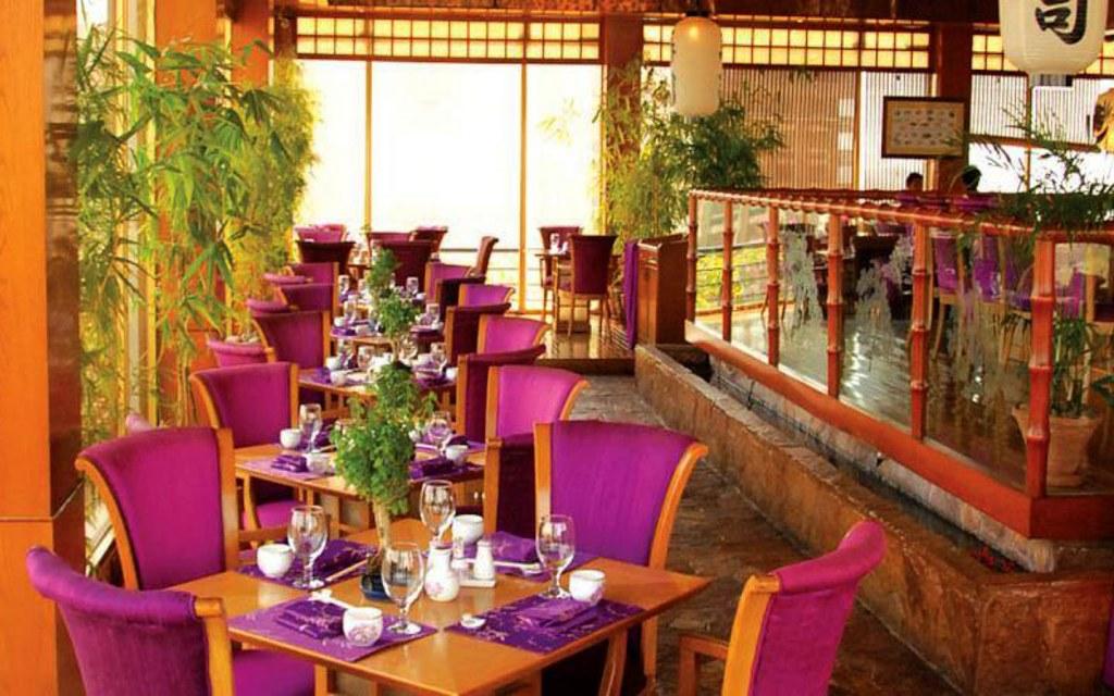 Sakura is located inside PC Hotel on Club Road