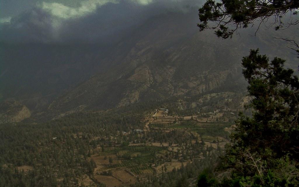 Prospect Point is a touring spot near Ziarat