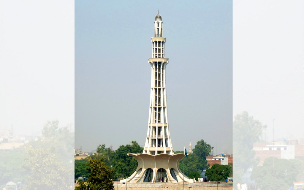 Steeped in history Minar-e-Pakistan stands tall in Iqbal Park