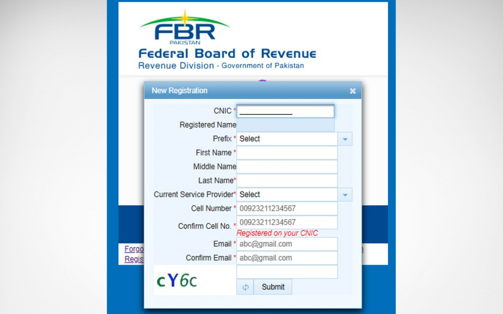 Become A Tax Filer In Pakistan By Online Registration