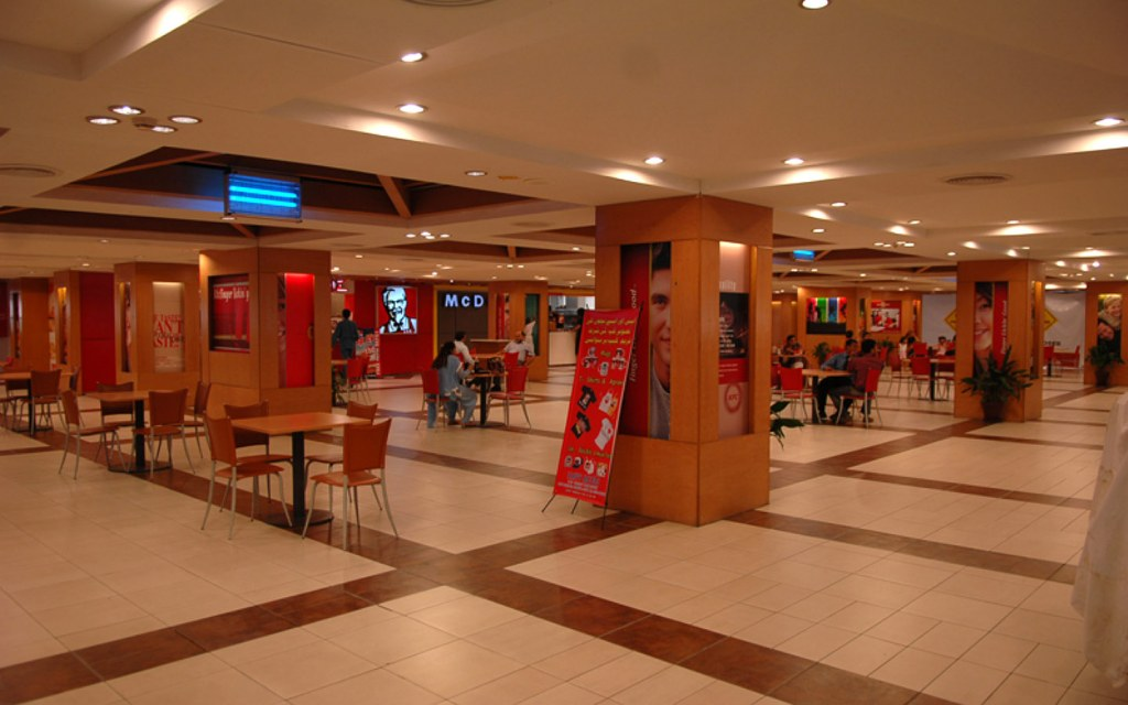 The food court at Mall of Lahore serves South Indian, Chinese, Pakistani as well as fast food