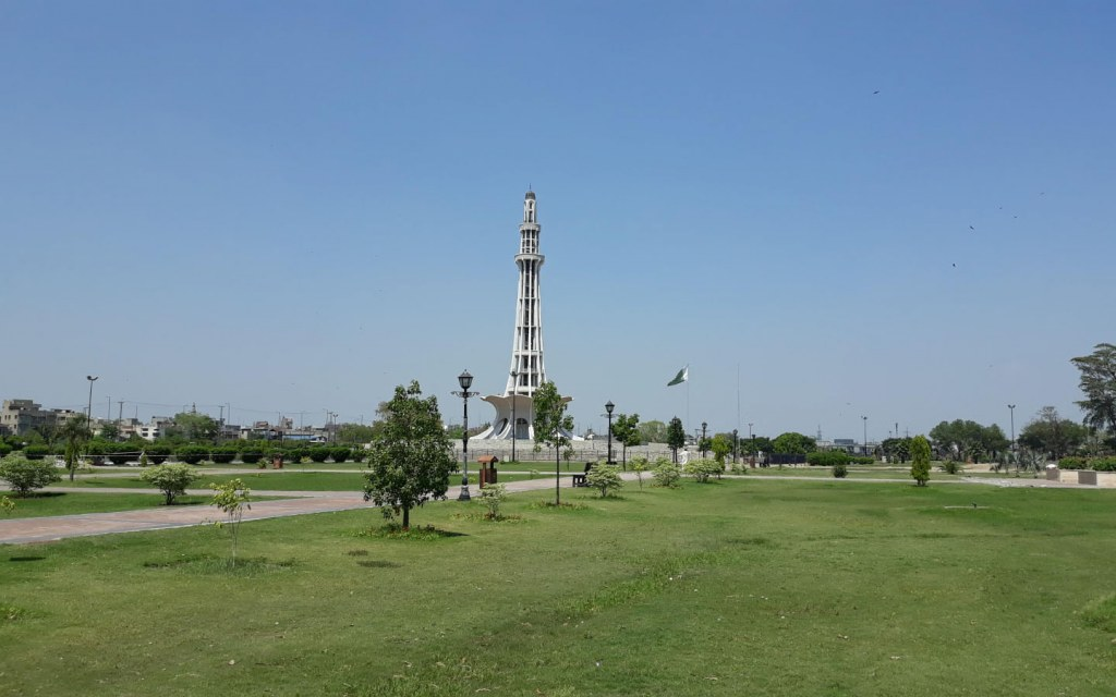 The Greater Iqbal Park is a popular attraction in Lahore