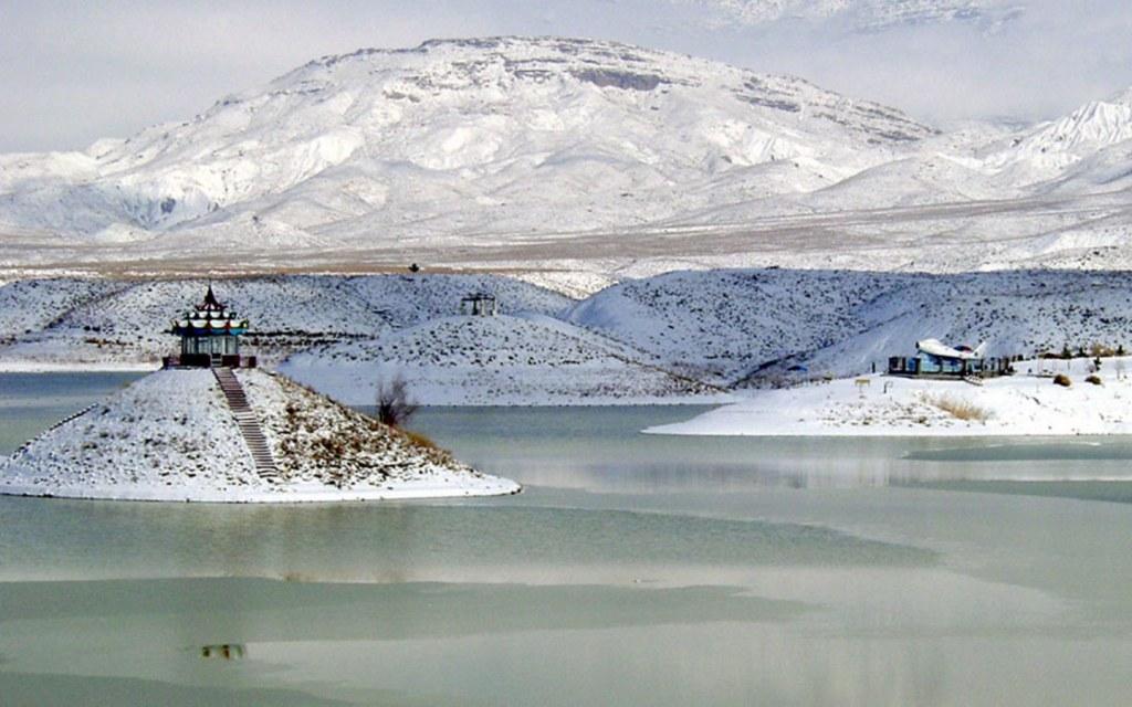 Hanna Lake is locally known as Hanna Jheel