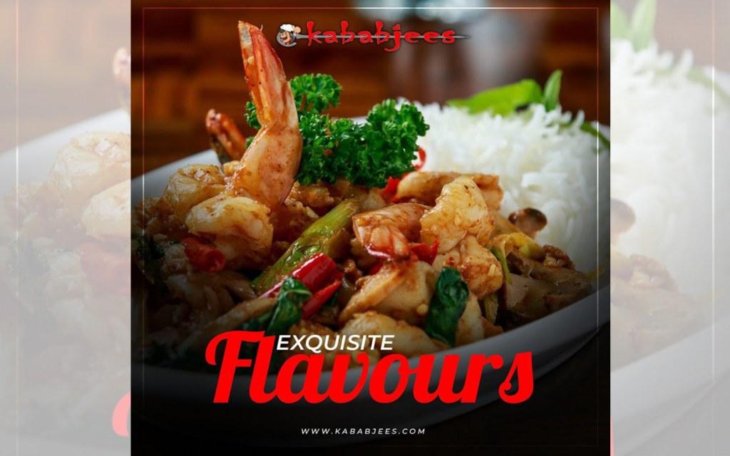 Kababjees at Do Darya serves you seafood
