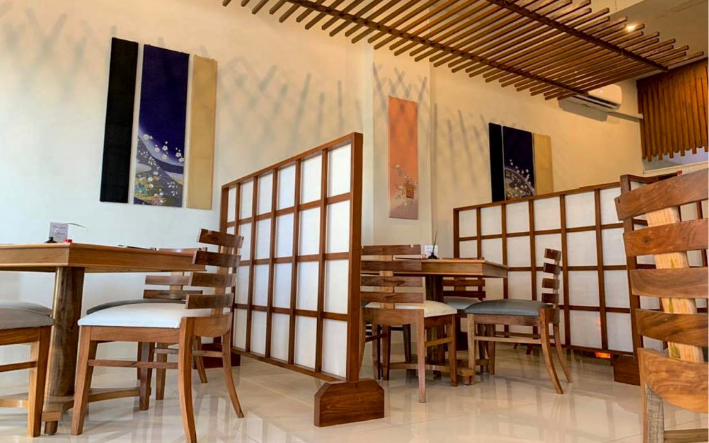 Makotoya specialises in healthy and organic Japanese cuisine