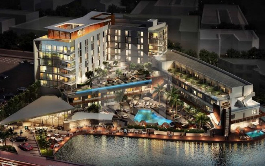 Proposed Design for Commercial District and Food Street of Blue World City