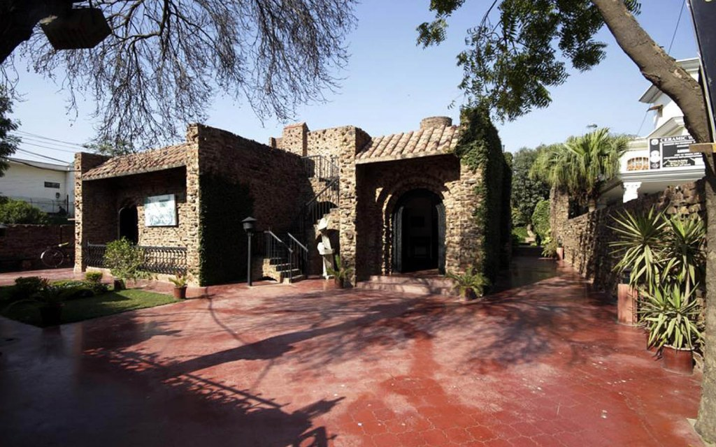 The Entrance of Shakir Ali Museum