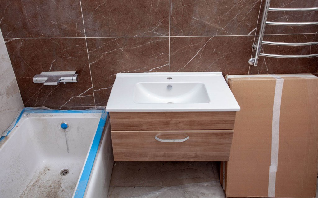 Upgrade the fixtures and fittings for your bathroom to make it more modern