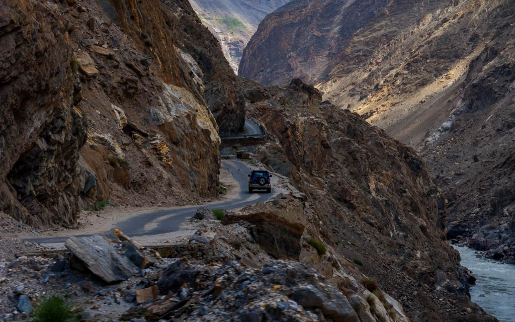 The Karakoram Highway is one of the scariest roads in the world
