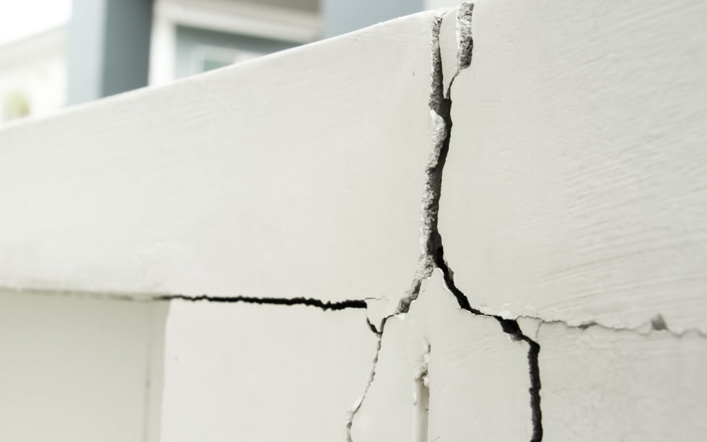 If the structure of your house is weak or cracked, fixing it is the first priority
