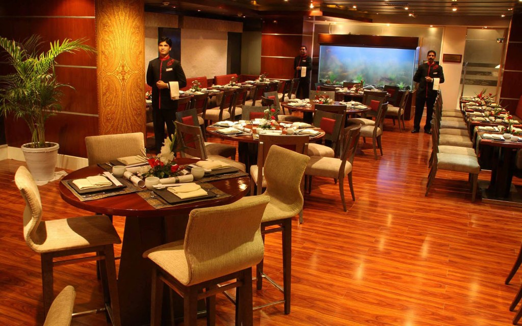 Asian Aroma is located within Park Lane Hotel, Lahore