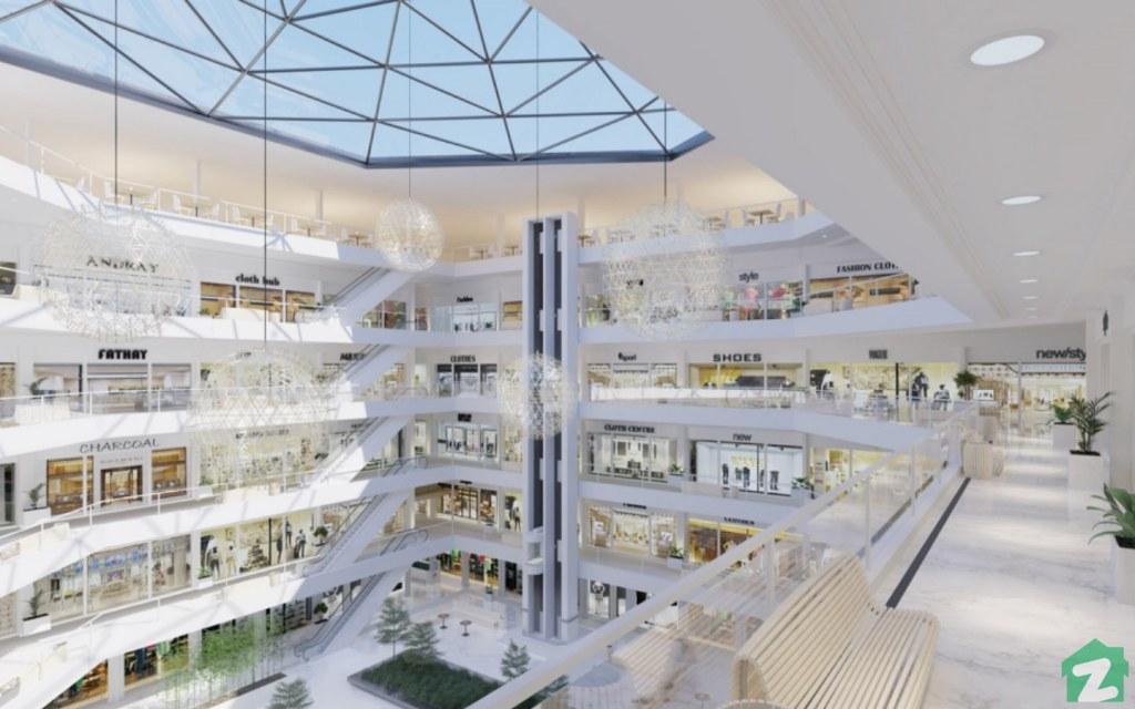 Zameen Ace Mall's gigantic Atrium