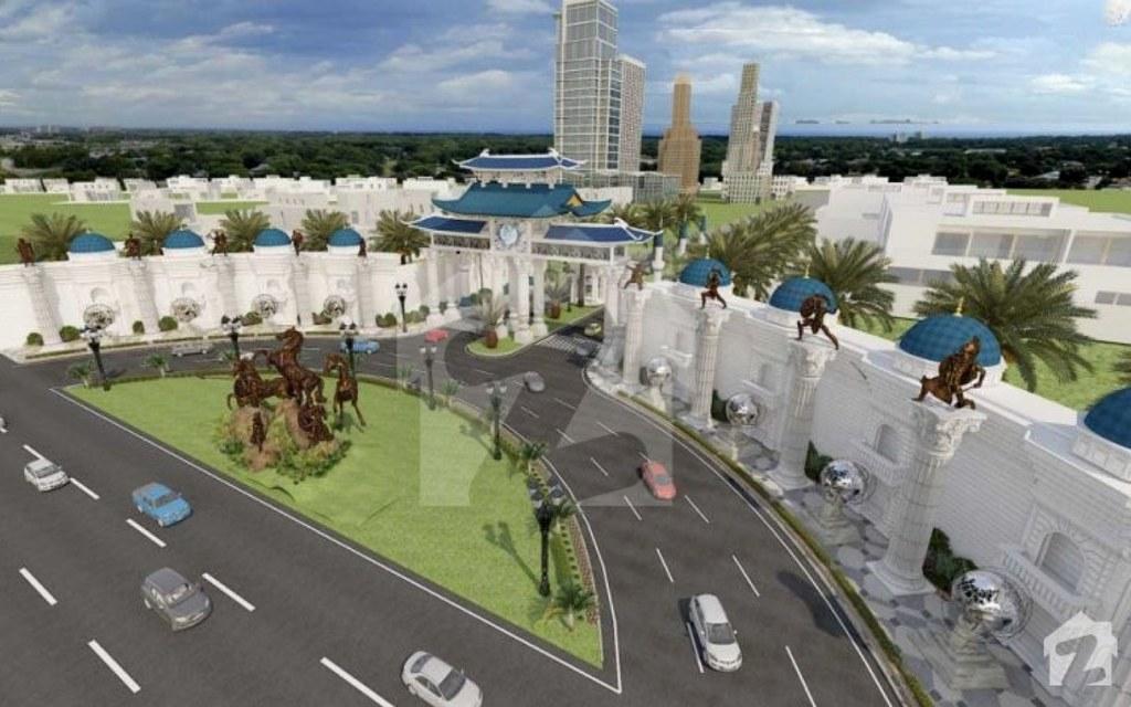 Entrance Design for Blue World City, Islamabad