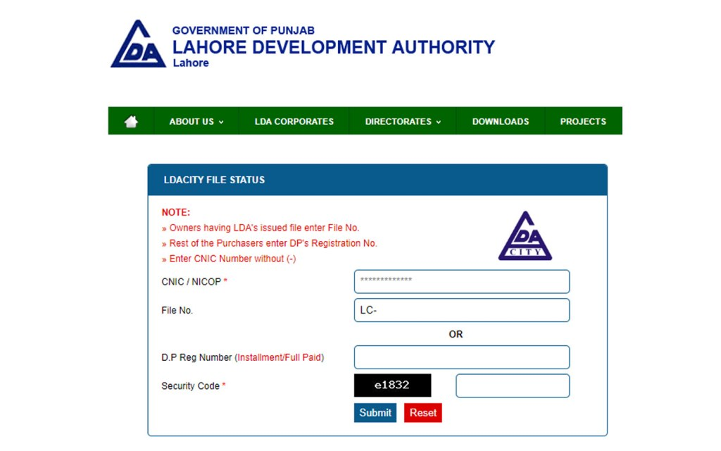 You can check records on your own at the LDA website