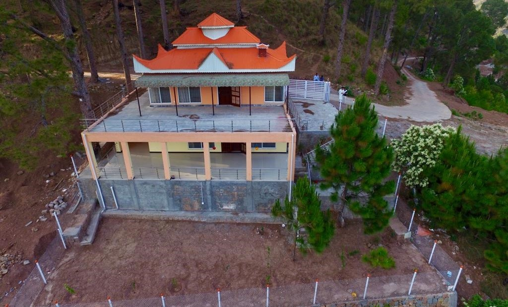 Image shows a vacation home in Murree Resorts