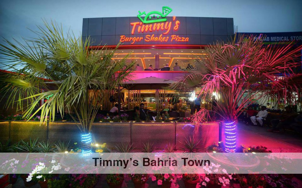 eateries in Bahria Town Lahore