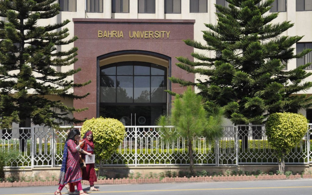 Bahria University is known for its BBA/MMA programmes