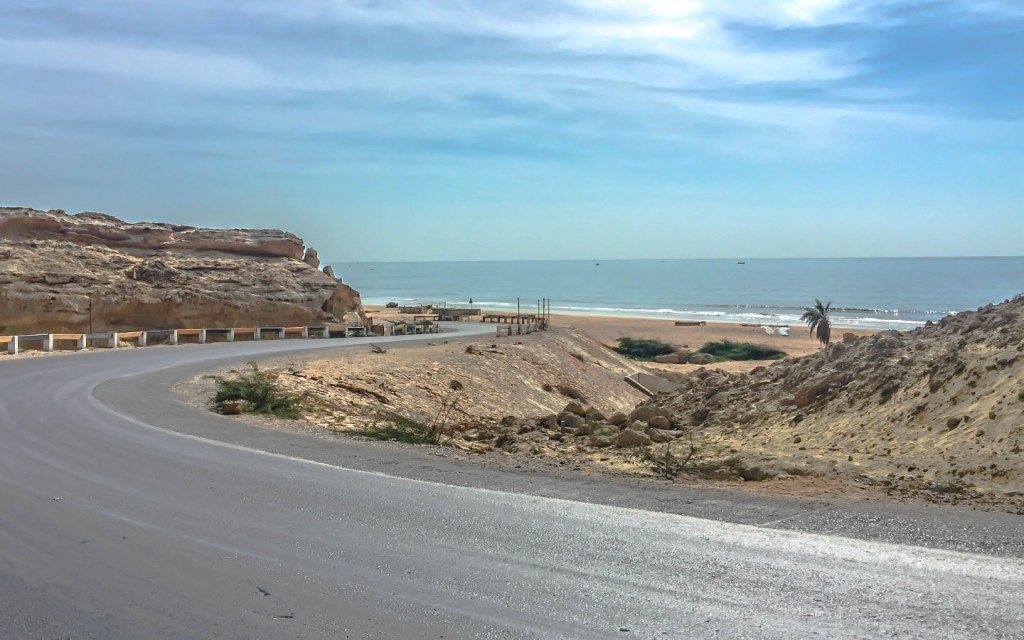 Makran Coastal Highway serves as the most feasible route to reach Hingol National Park