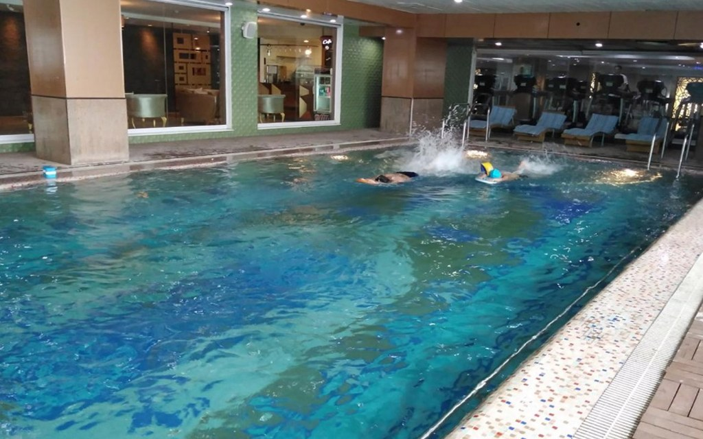 One of the best swimming clubs in Lahore