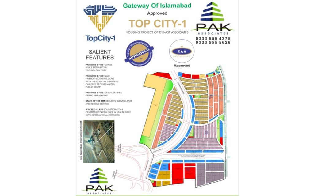 Master plan of topcity-1