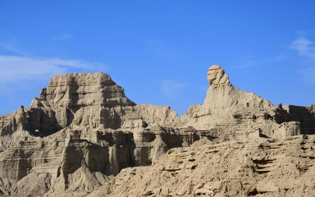 Lion of Balochistan is a unique rock formation