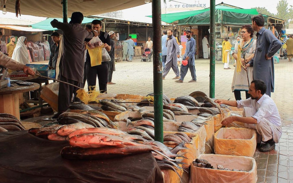 There are designated areas for Sunday markets in Islamabads