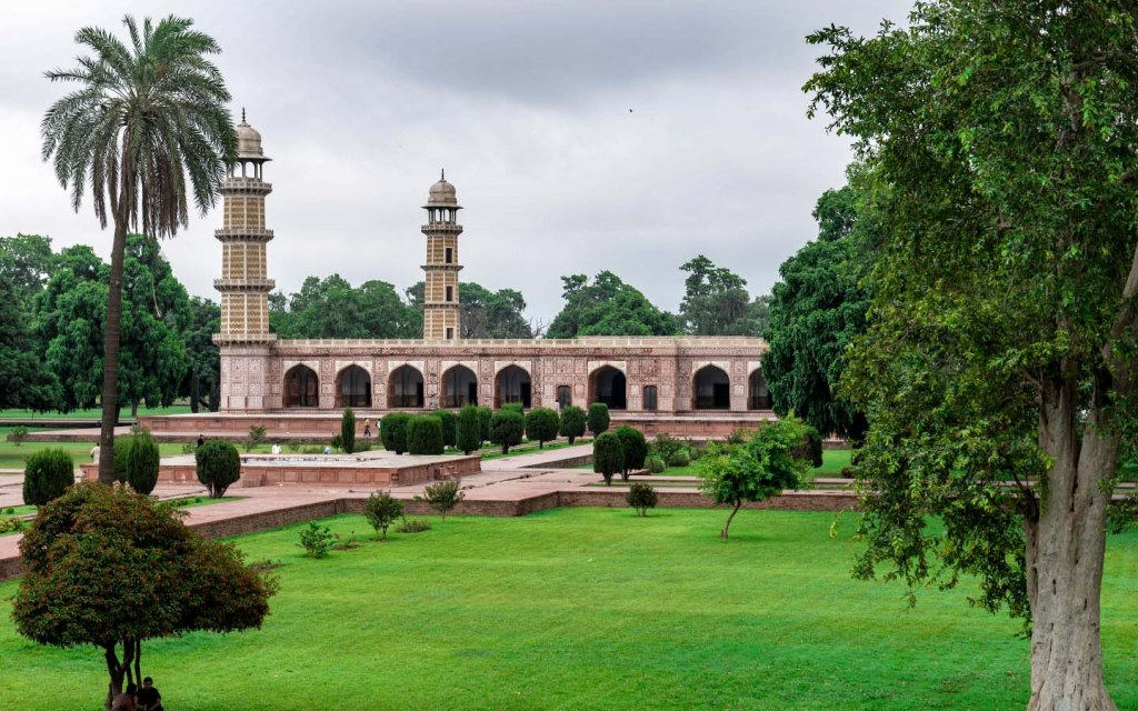 The Tomb of Jahangir in Shahdara Bagh