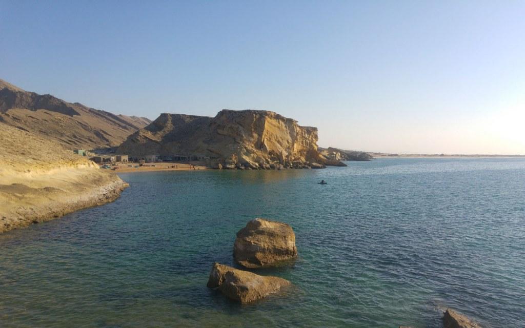 Kund Malir beach is a popular tourist attraction in Balochistan
