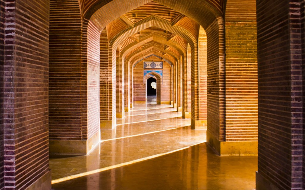 The brickwork at Shah Jahan Mosque, Thatta is second to none