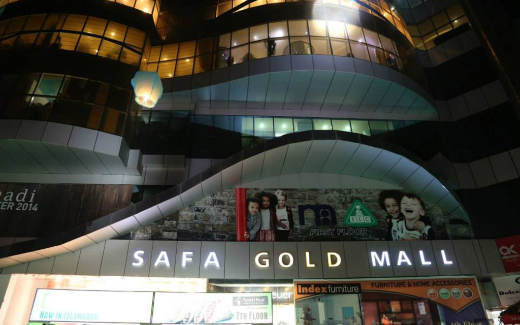 Safa Gold Mall is widely popular among shoppers in Islamabad