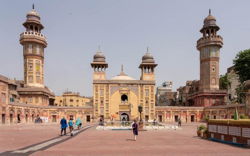 Wazir Khan Masjid in old city Lahore