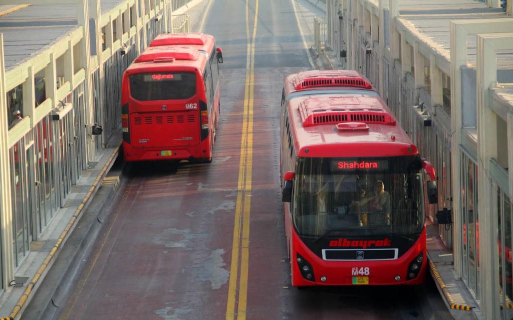 PMA operates Metro Bus in Lahore