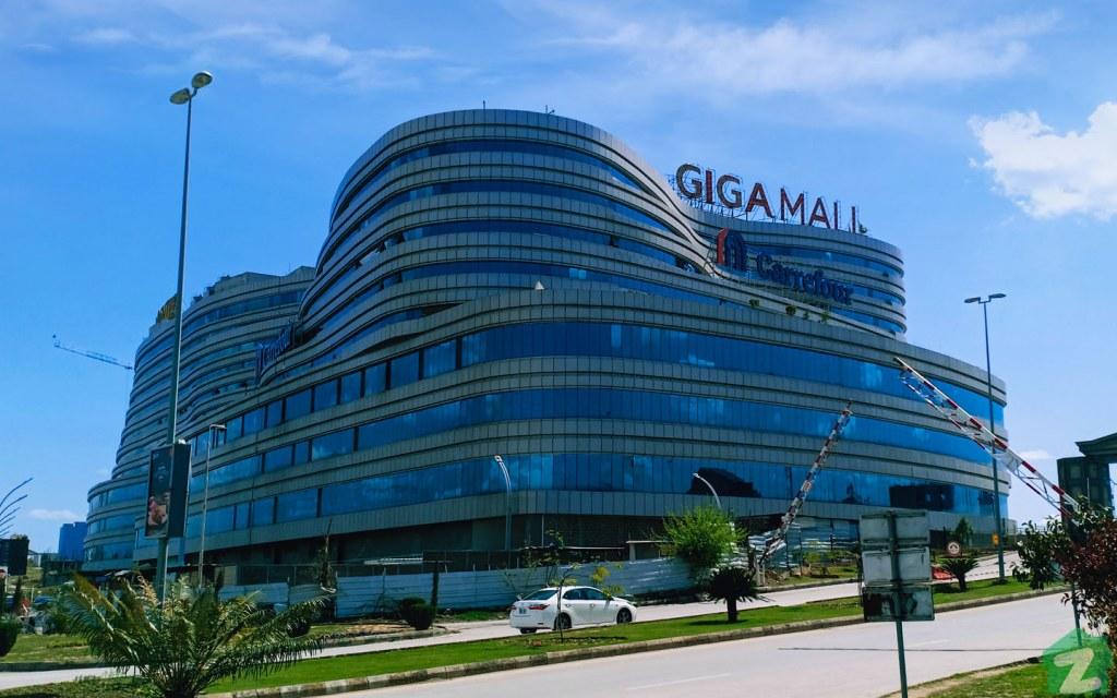 Giga Mall in Islamabad