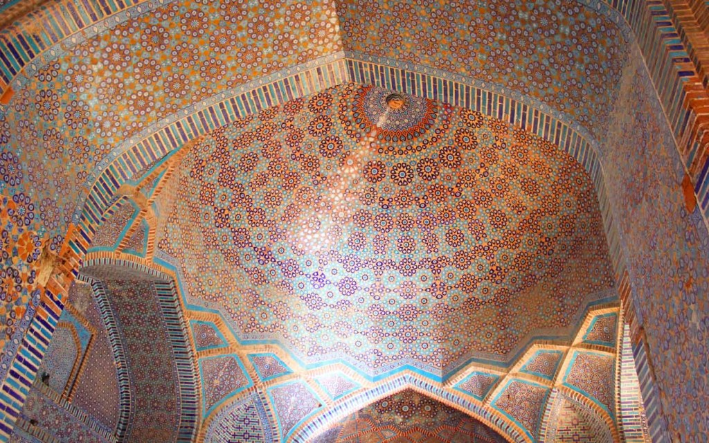 Main Dome, Shah Jahan Mosque has the most domes on any structure in Pakistan