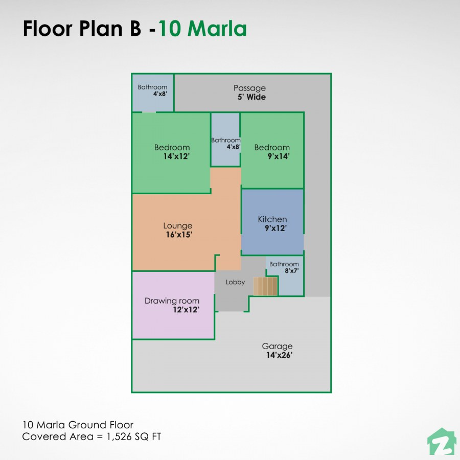 Design your customised house using this floor plan