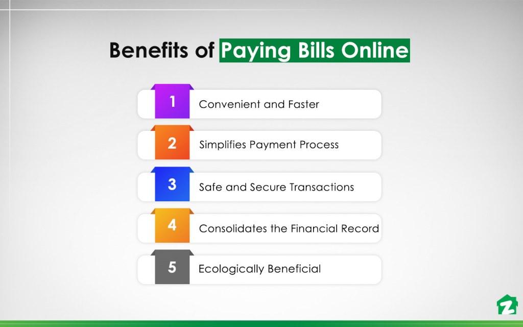 benefits of paying bills online in Pakistan