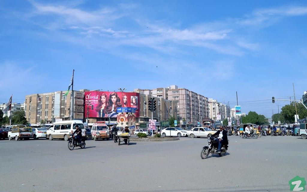 the popular locality of Gulistan-e-Jauhar