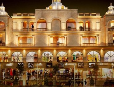 Elanza Mall and Residency, a project of castle builders