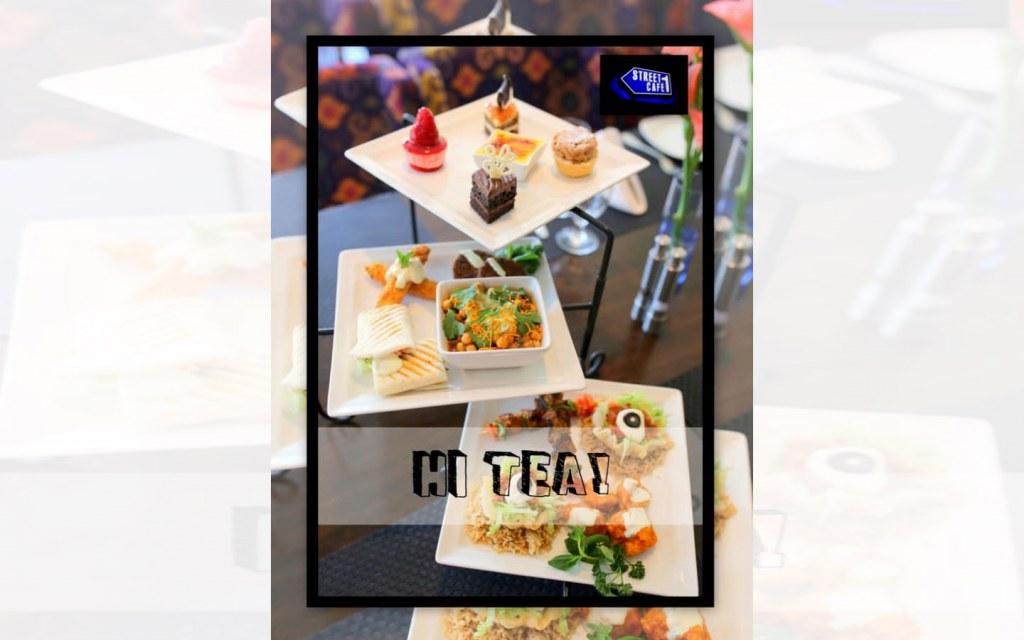hi-tea at Street 1 Cafe Islamabad