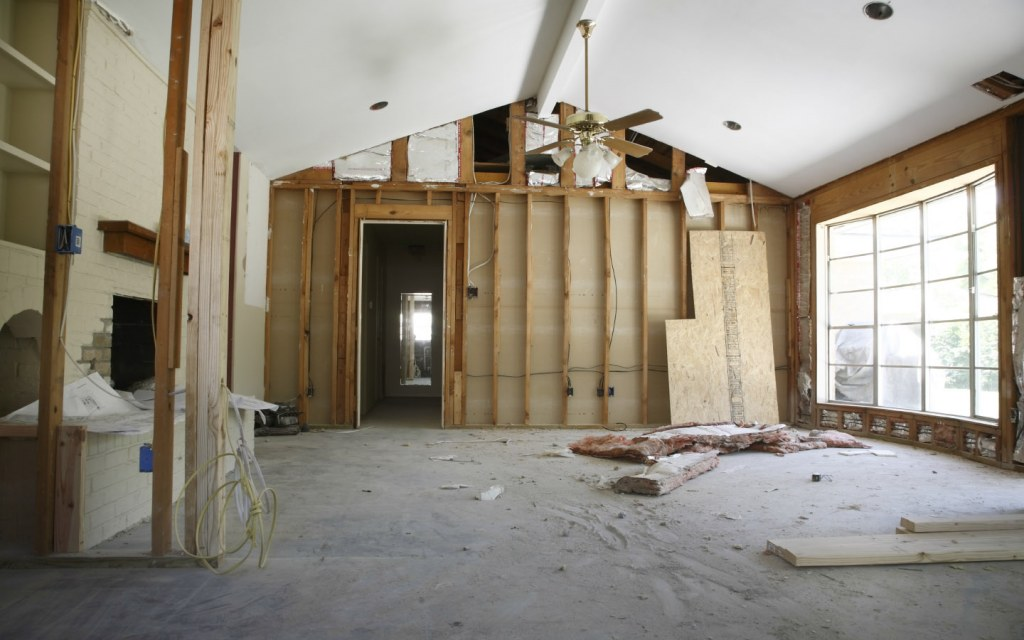 your interior can fill up with dust and noise pollution during home renovation
