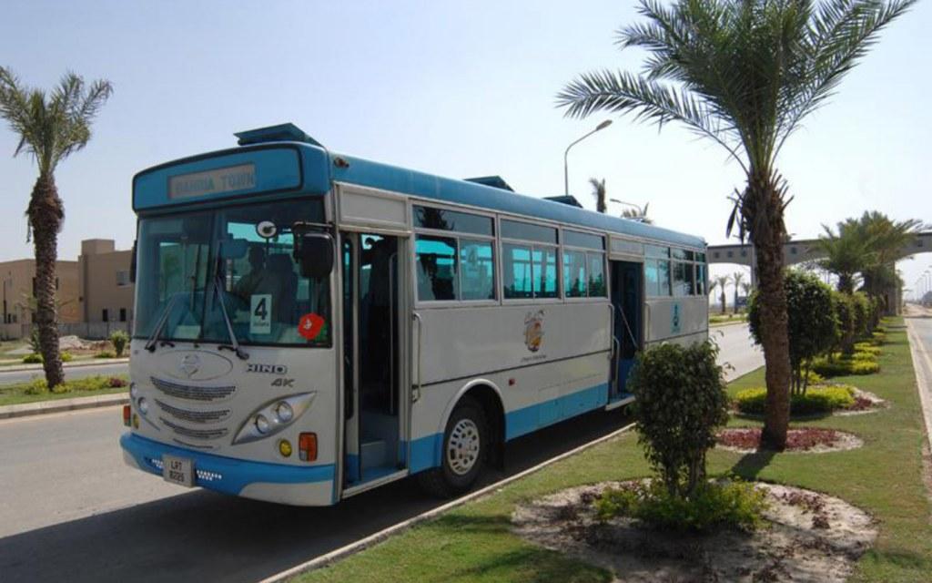 Bahria Town Karachi runs a free shuttle service